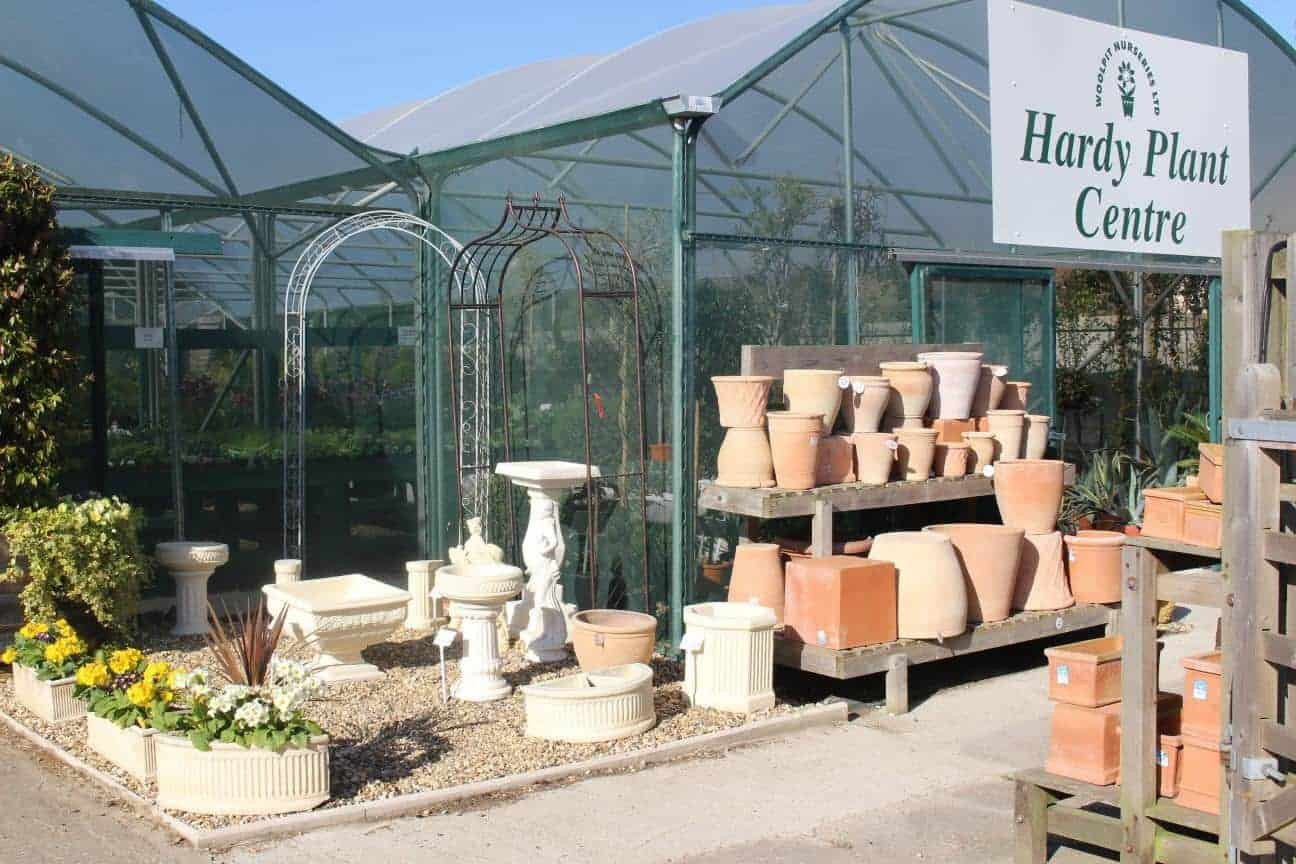 Hardy Plant Centre at Woolpit Nurseries.