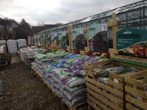 growmore fertiliser at Woolpit Nurseries