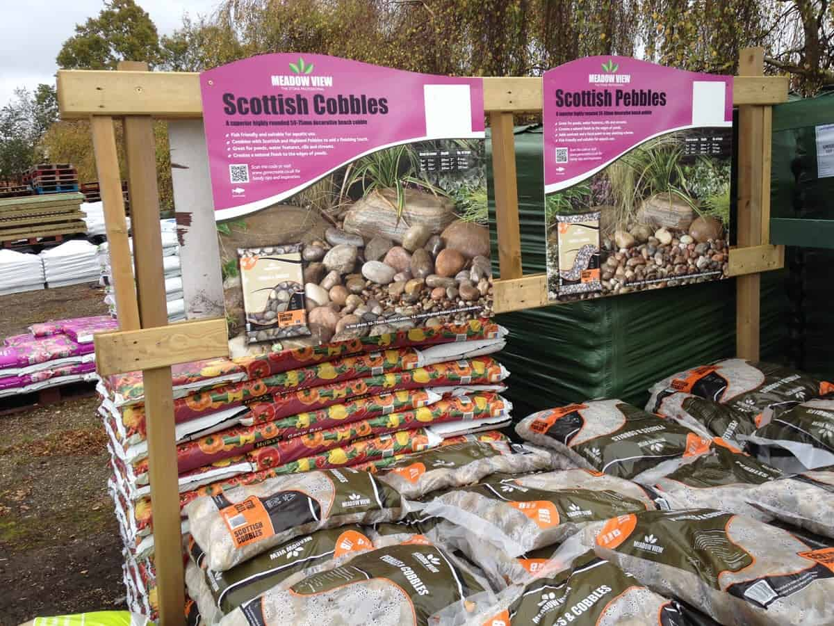 Scottish cobbles and pebbles for gardeners