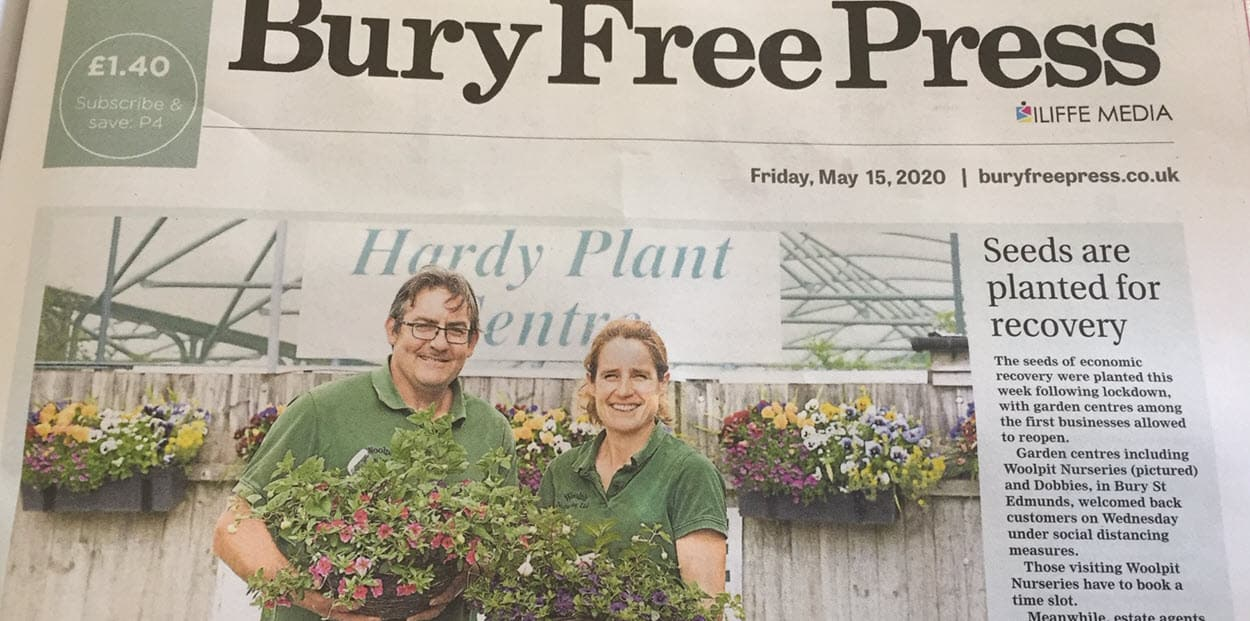 Plant Nurseries reopens Bury Free Press